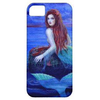 Caso hermoso del iPhone 5 de la sirena iPhone 5 Case-Mate Fundas