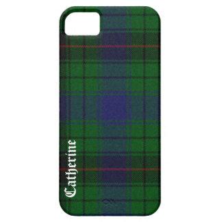 Caso hermoso del iPhone 5 de la tela escocesa de t iPhone 5 Coberturas