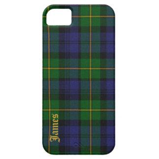Caso hermoso del iPhone 5 de la tela escocesa de t iPhone 5 Cobertura