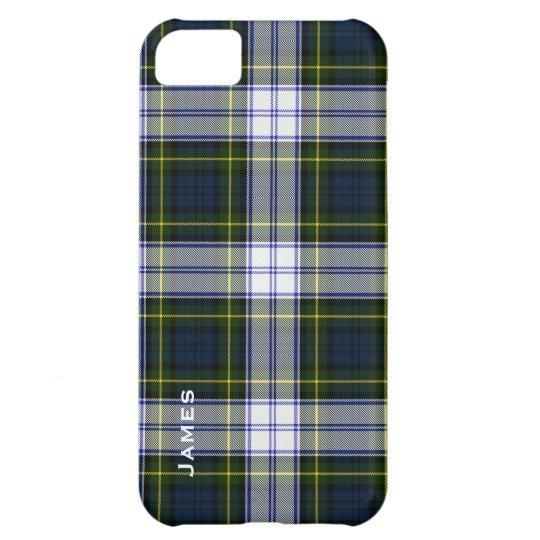 Caso hermoso del iPhone 5 de la tela escocesa de t Funda Para iPhone 5C