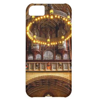 Caso hermoso del iPhone 5 del órgano de la catedra