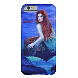 Caso hermoso del iPhone 6 de la sirena Funda De iPhone 6 Barely There