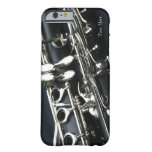 Caso hermoso del iPhone 6 del Clarinet