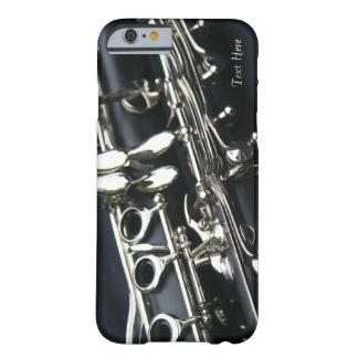 Caso hermoso del iPhone 6 del Clarinet Funda De iPhone 6 Barely There