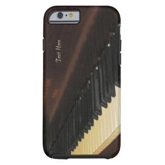 Caso hermoso del iPhone 6 del piano