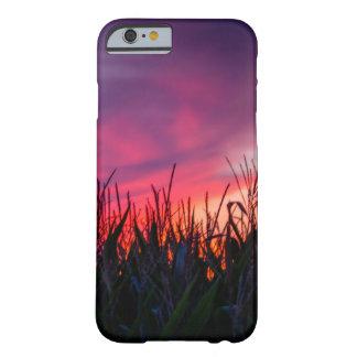 Caso hermoso del iPhone del campo de maíz de la Funda Barely There iPhone 6