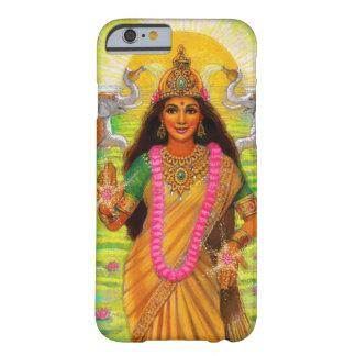 Caso hindú del iPhone 6 de la diosa de Lakshmi Funda Para iPhone 6 Barely There