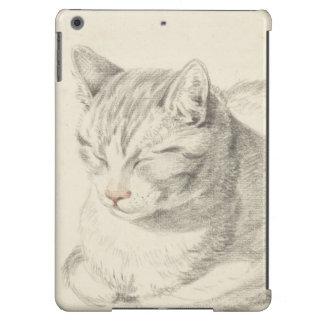 Caso holandés del iPad de la impresión del gato de