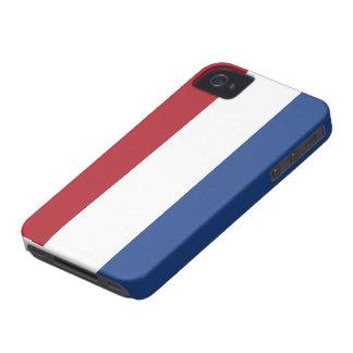 Caso holandés del iphone 4 de la bandera iPhone 4 protectores
