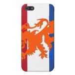 Caso holandés del iPhone del regalo de la bandera  iPhone 5 Cobertura