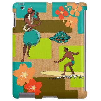 Caso Hula del iPad hawaiano del chica y de la pers