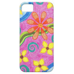 Caso ideal floral del iPhone 5 iPhone 5 Fundas