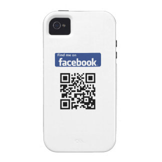 Caso II del iPhone 4 de los amigos de Facebook Vibe iPhone 4 Carcasa