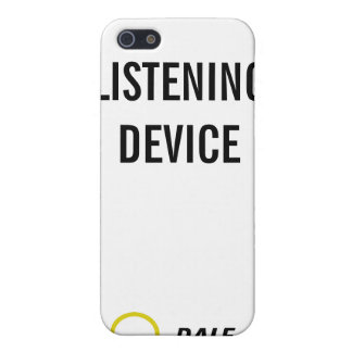 caso iListening del dispositivo 4,0 iPhone 5 Protector