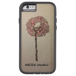 Caso impermeable de Iphone 6 florales Funda Tough Xtreme iPhone 6