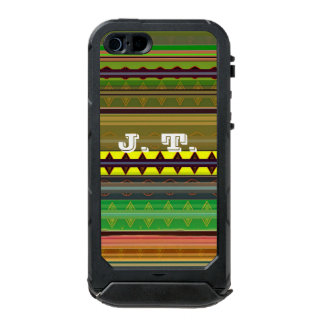 Caso impermeable del iPhone Carcasa De Iphone 5 Incipio Atlas Id