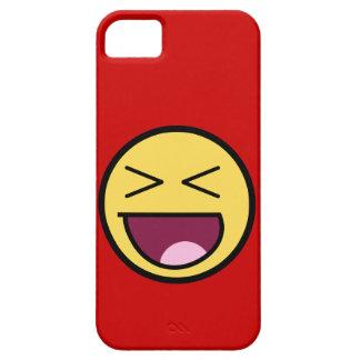 Caso impresionante feliz del iPhone 5 de la cara iPhone 5 Case-Mate Carcasa