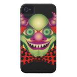 Caso impresionantemente espantoso asustadizo del i iPhone 4 protectores
