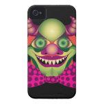 Caso impresionantemente espantoso asustadizo del i Case-Mate iPhone 4 cárcasa