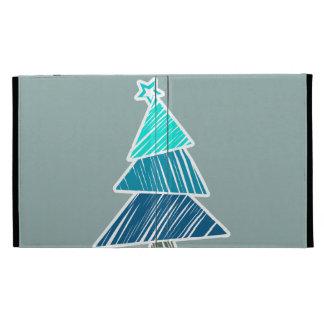 Caso incompleto del iPad del árbol de navidad de l