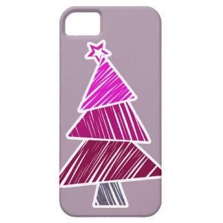 Caso incompleto rosado del iPhone 5 del árbol de Funda Para iPhone SE/5/5s