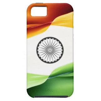 Caso indio de Iphone de la bandera iPhone 5 Carcasa