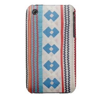 Caso indio del iPhone 3 del edredón del Seminole Case-Mate iPhone 3 Protectores
