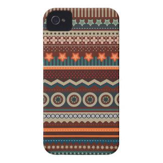 Caso indio nativo étnico de Blackberry del modelo Carcasa Para iPhone 4