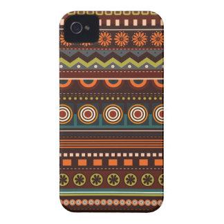 Caso indio nativo étnico de Blackberry del modelo Carcasa Para iPhone 4 De Case-Mate