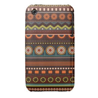 Caso indio nativo étnico del iPhone 3 del modelo Funda Para iPhone 3 De Case-Mate