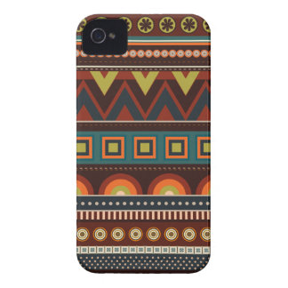 Caso indio nativo étnico del iPhone 4 del modelo Carcasa Para iPhone 4 De Case-Mate
