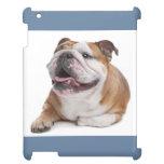 Caso inglés del iPad del perro de perrito del dogo
