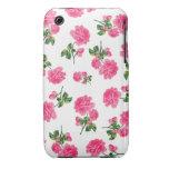 Caso inglés del iphone 3 de los rosas del rosa de  Case-Mate iPhone 3 protector