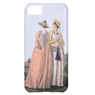 Caso inglés del iPhone 5 de la placa de moda de la