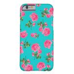 Caso inglés del iPhone 6 de los rosas del rosa de