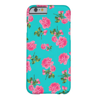 Caso inglés del iPhone 6 de los rosas del rosa de Funda De iPhone 6 Slim