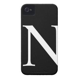 Caso inicial del iPhone 4/4S Barely There de N Case-Mate iPhone 4 Protectores