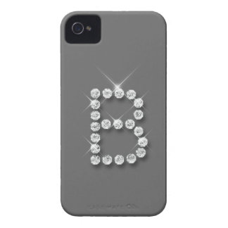Caso inicial del iPhone 4/4S del diamante B iPhone 4 Case-Mate Cobertura