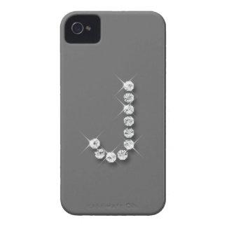 Caso inicial del iPhone 4/4S del diamante J iPhone 4 Case-Mate Cárcasas