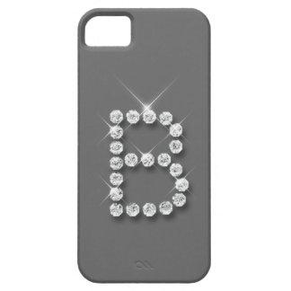 Caso inicial del iPhone 5 del diamante B iPhone 5 Carcasas