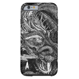 """Caso """"inicial"""" del iPhone 6 del dragón apenas allí Funda De iPhone 6 Tough"""