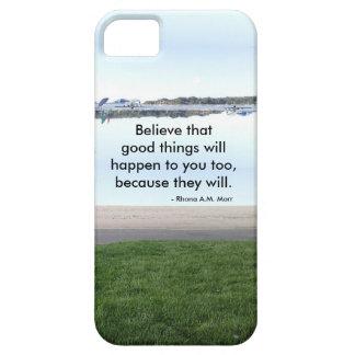 Caso inspirado del iPhone de las citas iPhone 5 Funda