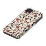 Caso inspirado encanto del iPhone 4 del vintage Case-Mate iPhone 4 Fundas