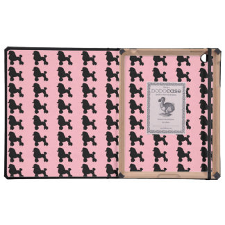 Caso inspirado falda rosada del iPad del caniche