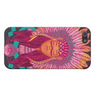Caso inspirado indio iPhone 5 cárcasa