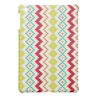 Caso inspirado tribal del iPad del zigzag mini iPad Mini Carcasa