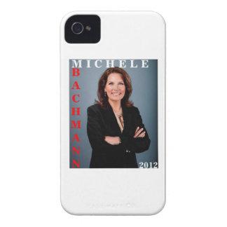 Caso intrépido 2012 de Micaela Bachmann Blackberry Case-Mate iPhone 4 Cárcasas