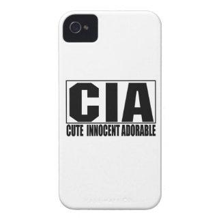Caso intrépido adorable inocente lindo de la Cia iPhone 4 Case-Mate Carcasas