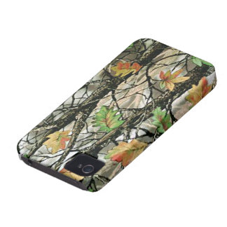 Caso intrépido de Forrest Camo Blackberry iPhone 4 Protector
