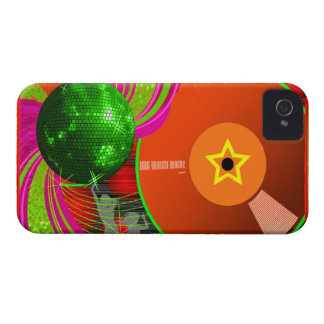 caso intrépido de la cubierta de la zarzamora de D iPhone 4 Case-Mate Protector